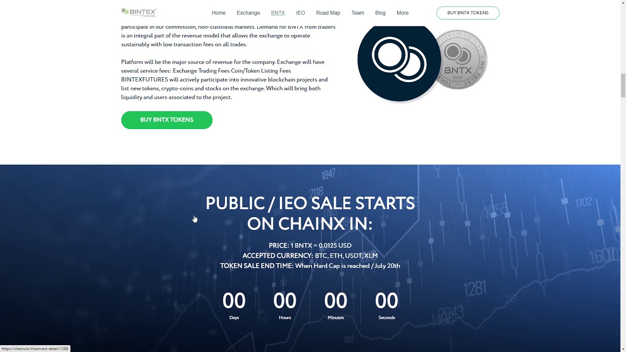 Bintex - PUBLIC/IEO ALREADY STARTED TODAY!!! BUY TOKENS NOW!!!