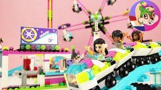 2742 DUT TOYS  15483 Lego Friends GROSSER FREIZEITPARK 41130   Riesenrad Achterbahn + Free Fall Towe