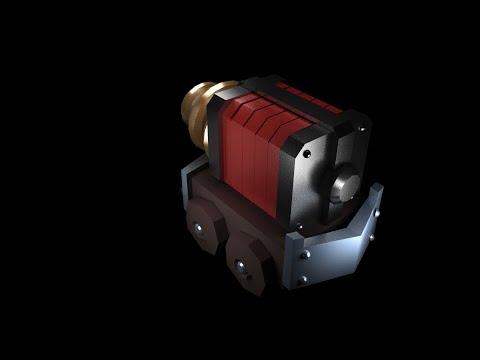 ClashRoyale | Sparky SpeedModel 3D