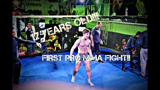 First Pro MMA Fight at 17 Years of age