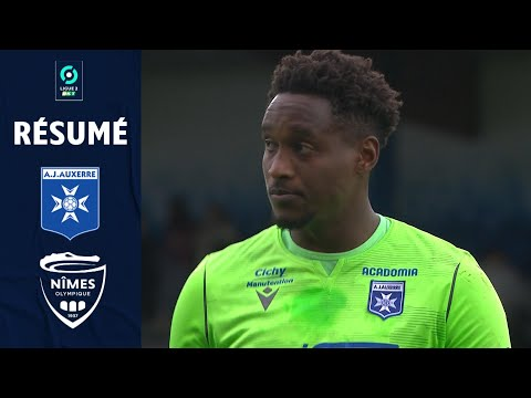 Auxerre Nimes Goals And Highlights