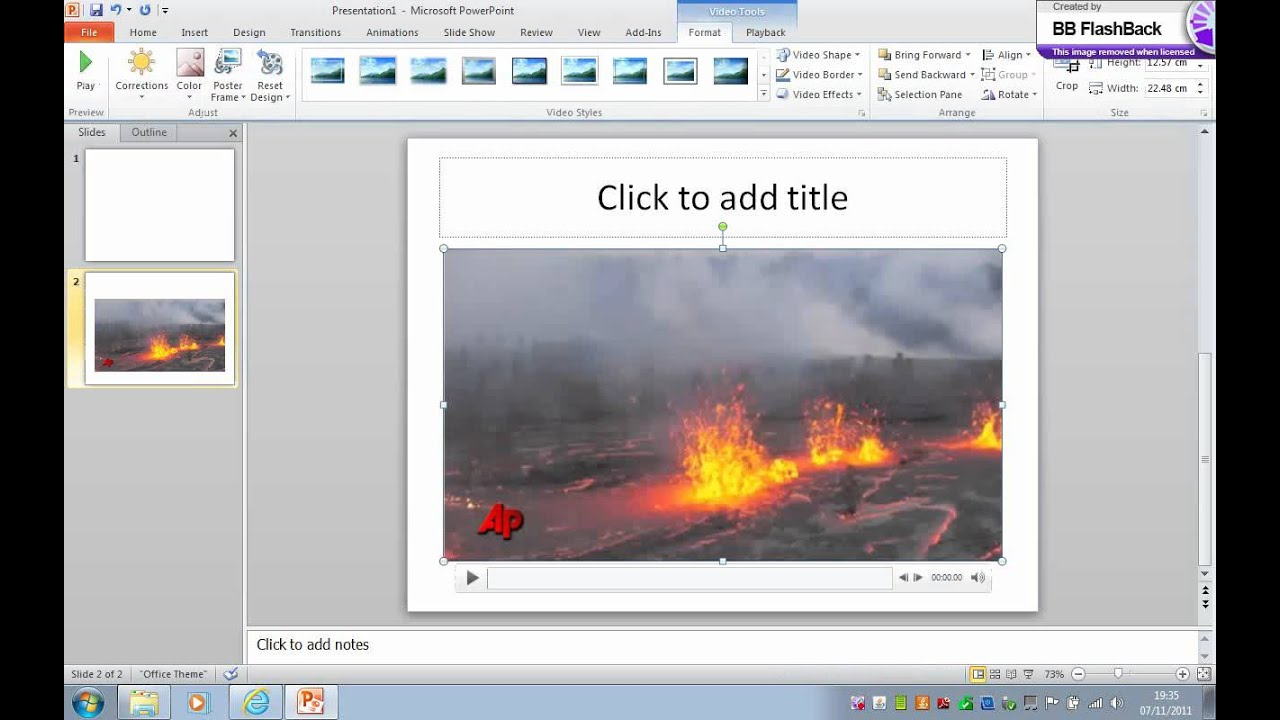 How Toembed A Youtube Video Into Powerpoint 2003 Insert A Video Into  Powerpoint Easy (try