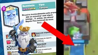 PLAYED with the new LETTER of UPDATE [REAL GHOST] the clash royale-META news # 1