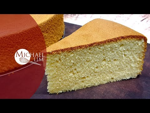 Vanilla Sponge Cake / No Baking Powder / In 2 Different Types Of Pan