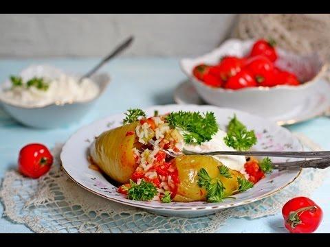 Фаршированный перец овощами и рисом рецепт пошагово 131