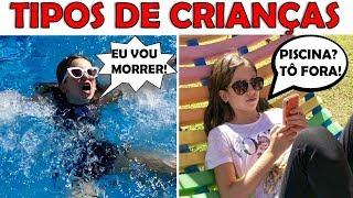 TIPOS DE CRIANÇAS NAS FÉRIAS  (TYPE OF CHILDREN)