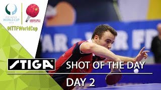 2015 Men's World Cup - Point of Day 2 - Presented by STIGA