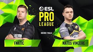 CS:GO - Fnatic vs. Natus Vincere [Inferno] Map 1 - Semifinals - ESL Pro League Season 10 Finals