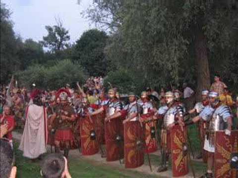 First European festival of Rome : Eagle on the Danube