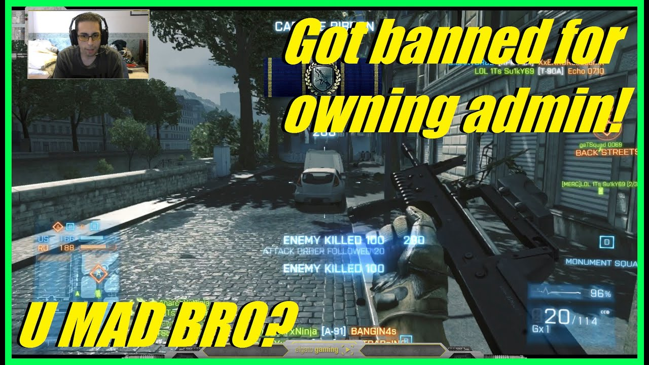 Download BF3 - Got banned for owning the admin's team! | U mad bro? (Conquest, A91)