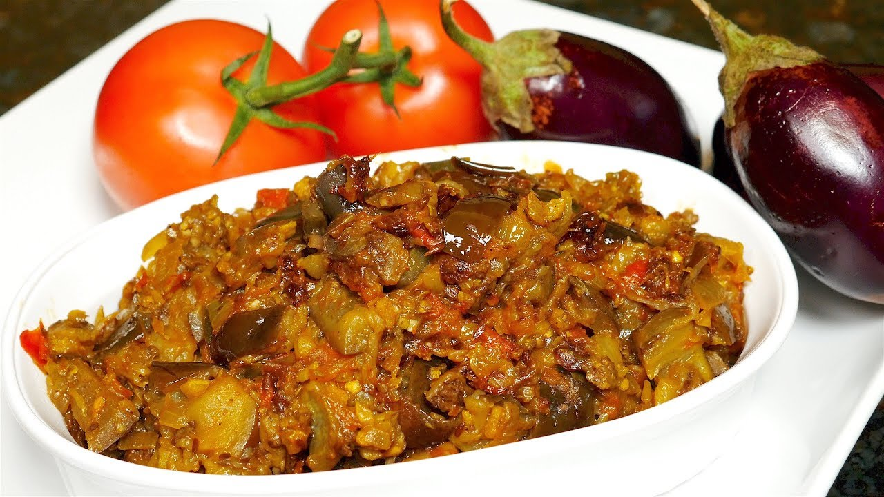 Eggplant Curry Recipe - YouTube