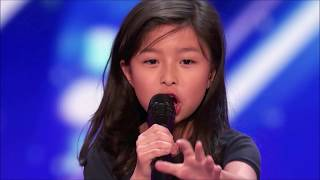 Celine Tam: Wonder Girl Wants To Be Next Celine Dion on America's Got Talent 2017 MP3