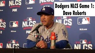 Dodgers NLCS: Dave Roberts on Joe Blanton giving up grand slam