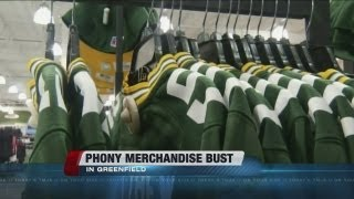 Greenfield Police Arrest Man For Selling Counterfeit NFL Jerseys