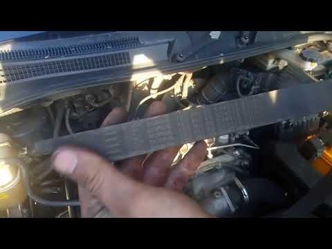 Hyundai Trajet 2.0 CRDI порвался ремень ГРМ Part1