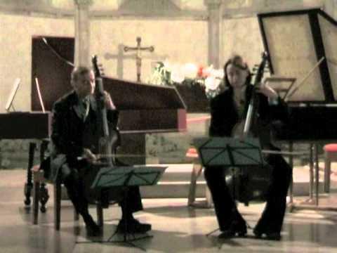 Christoph Schaffrath:  Sonata in d-minor for two violas da gamba