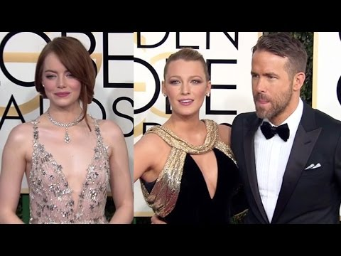 Thumbnail: Celebrities Arriving At The 2017 Golden Globes Red Carpet