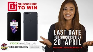 SUBSCRIBE TO WIN | A ONEPLUS 5 Mobile Phone