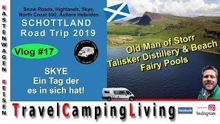 VLOG#17   Schottland Tour 2019   Isle of Skye   Old Man of Storr, Talisker Distillery, Fairy Pools