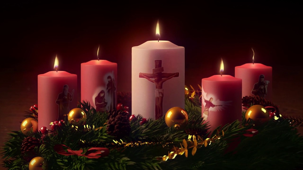 hight resolution of advent wreath