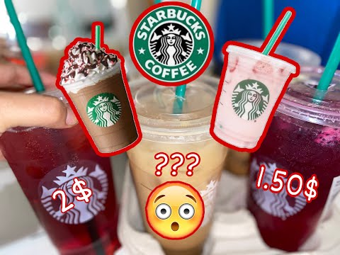 $1 STARBUCKS!!!!! STARBUCKS HACK