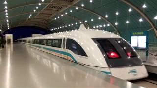 上海磁浮列車 Shanghai maglev train 時速431 km/h