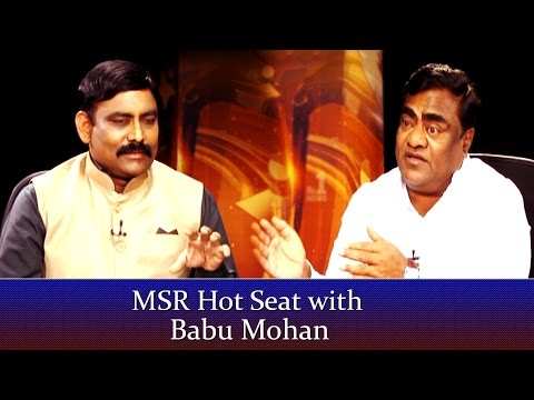 MSR Hot Seat with Actor Babu Mohan || No.1 News