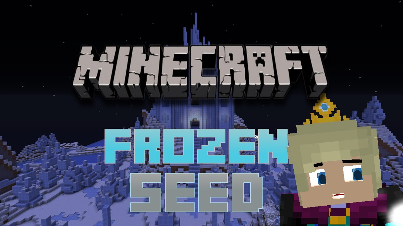 Minecraft Disneys Frozen Seed YouTube - Skin para minecraft pe frozen