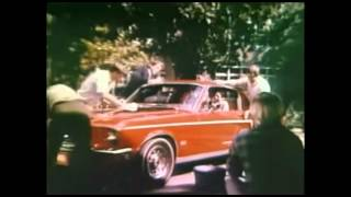 1968 Ford Mustang Commercial--Only Mustang Makes It Happen (1967-1968)