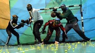 ЯDтv: Тренировка новичков в спортивный пейнтбол
