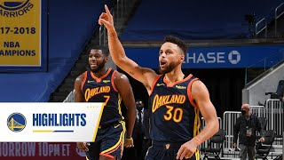 Warriors Complete 4th Quarter Comeback to Beat the Heat | Feb. 17, 2021