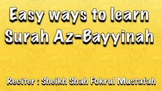 Download lagu #Easy# ways to learn Surah Al-Bayyinah