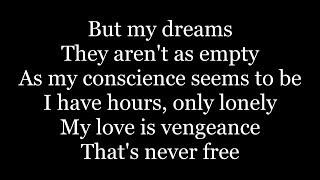 Limp Bizkit - Behind Blue Eyes (lyrics)