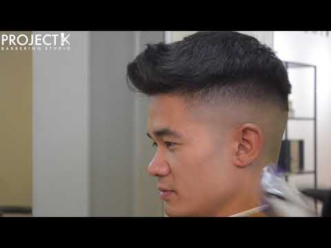 MEN'S HAIRCUT TUTORIAL | BALD FADE / SKIN FADE | SIDE PART | OSTER FAST FEEDS