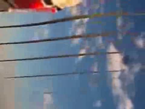 видео: полёт над городом на rc модели