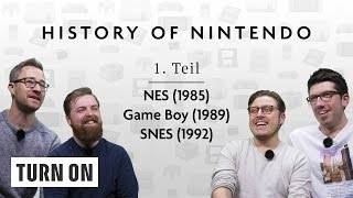 History of Nintendo // 1. Teil (NES, Game Boy, SNES) - TURN ON Spezial