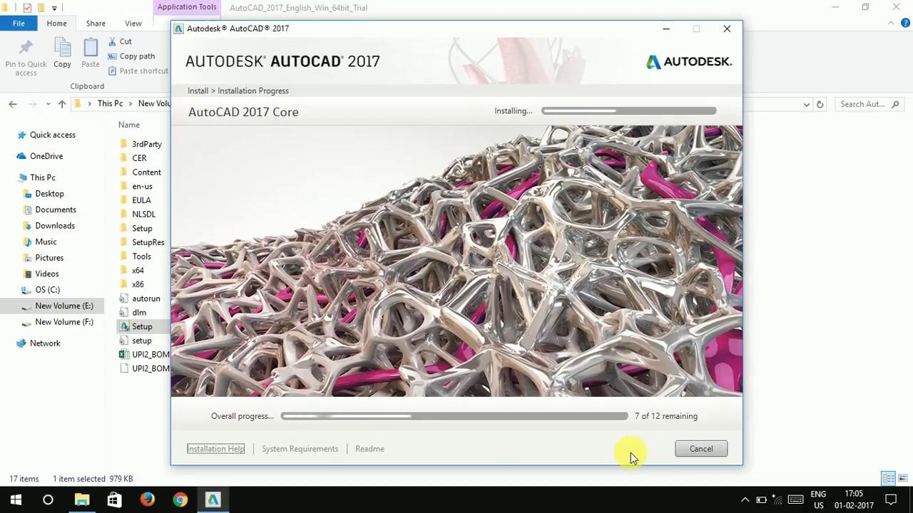 Autodesk AutoCAD 2017 (Win x64)