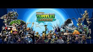 Game Review & Discussion: TMNT Legends - Mobile Games - Long Term Play & Pay 2 Play Video Games!