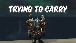 Trying To Carry - Fury Warrior PvP - WoW BFA 8.2