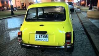 Mr. Bean Mini Cooper Look a Like in Dubai, U.A.E Full HD!!!