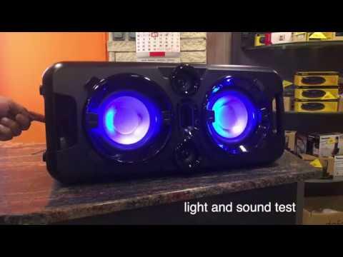 Download 🎼🔊👉 SENCOR Party Speaker SSS 3800 ( Bluetooth , USB, micro sd, jack connectors , mp3 )