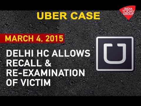Uber rape case: Timeline
