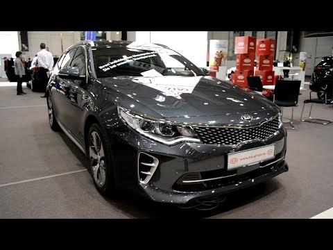 2017 New Kia Optima Sportswagon GT LINE Exterior and Interior