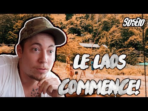 | VLOG LUANG PRABANG 🇱🇦| 9h De Traversée Du Mékong Au Laos S05E10 (2018)