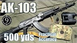 AK103 Iron Sights to 500yds: Practical Accuracy (Saiga 7.62 base rifle)