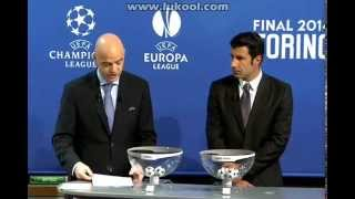 Uefa Champions League Semi Finals Draw 11.01.2014