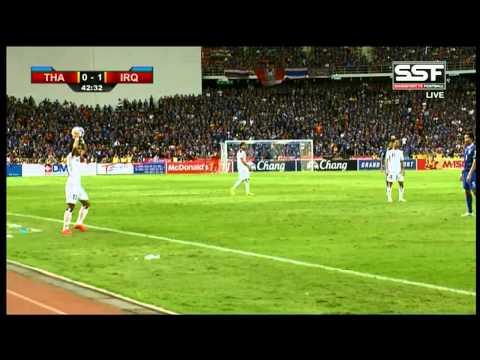 Full Match ทีมชาติไทย 2-2 ทีมชาติอิรัก ฟุตบอลโลก 2018 รอบคัดเลือก โซนเอเชีย กลุ่ม F