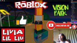 Roblox - VAMOS BRINCAR NO PARQUE (Parc de vision) - Livia LIL Liu