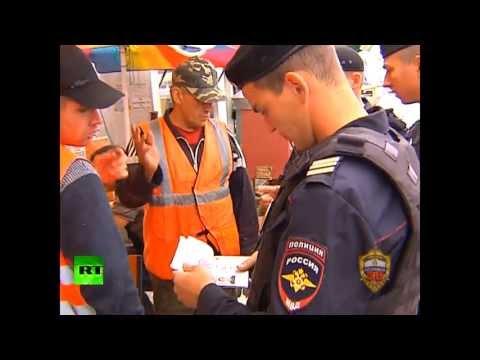 Полицейские проводят рейды