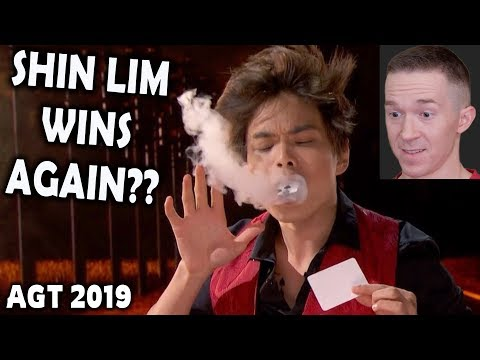 Magician REACTS to Shin Lim in the FINALS of AGT The Champions 2019